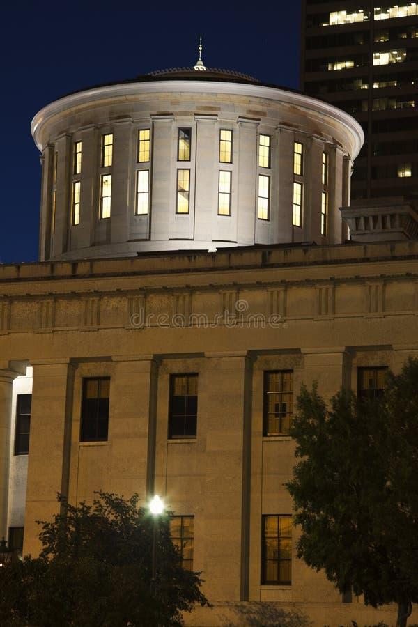 Columbus Ohio - tillståndsCapitolbyggnad arkivfoton