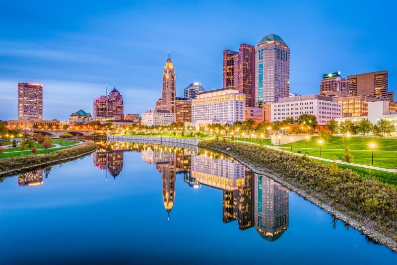 Columbus, Ohio, U.S.A. fotografia stock libera da diritti