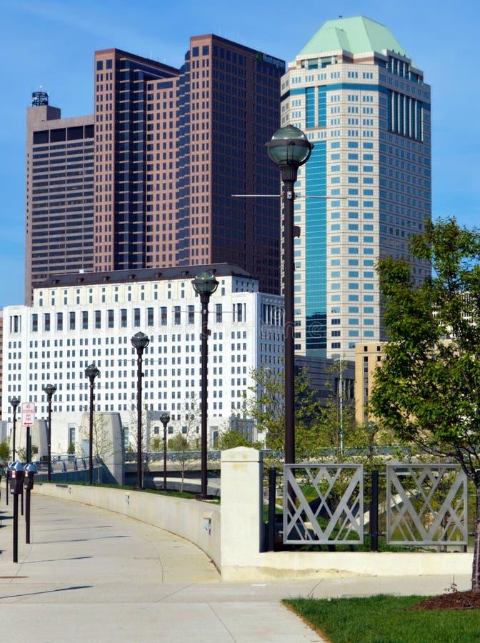 Columbus Ohio van de binnenstad stock fotografie
