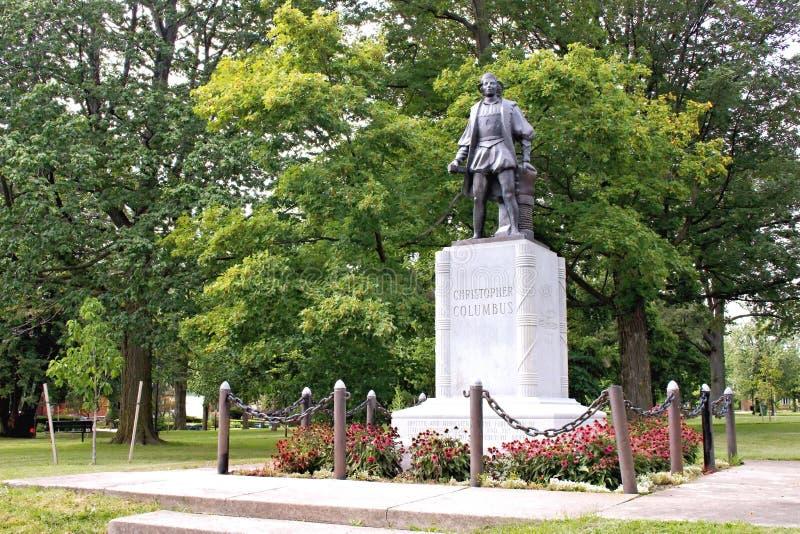 Columbus Park immagine stock libera da diritti