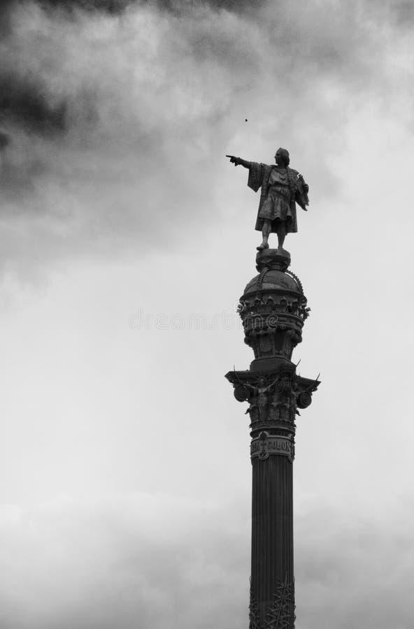 Columbus Statue fotos de archivo