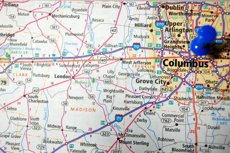 columbus w Ohio obraz royalty free