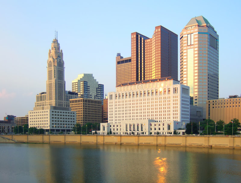 columbus w Ohio zdjęcia royalty free