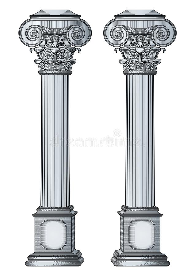 Column vector illustration