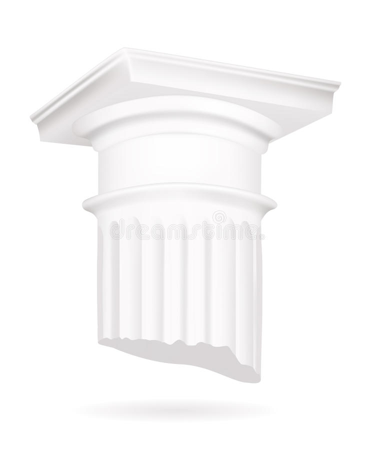 Download Column stock vector. Illustration of decoration, greek - 13207775