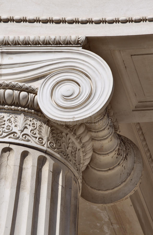 Download Column stock image. Image of classic, ionic, decorative - 14561515