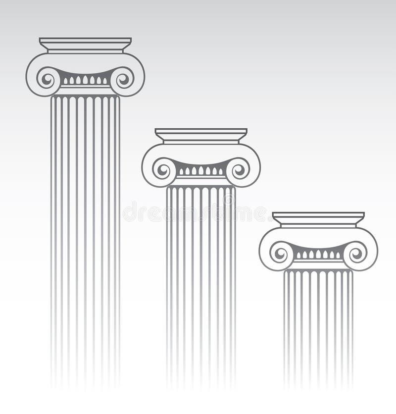 Column_2 stock de ilustración