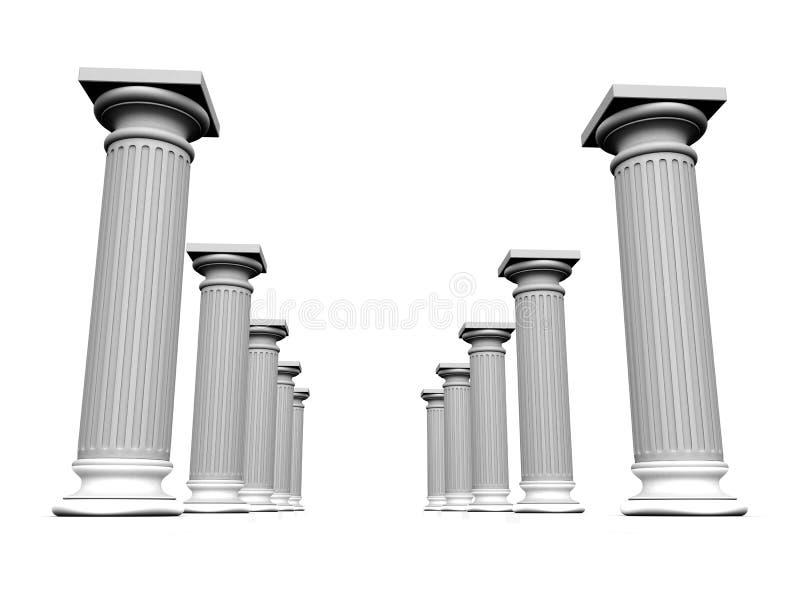 Download Column stock illustration. Illustration of greek, academic - 3258032