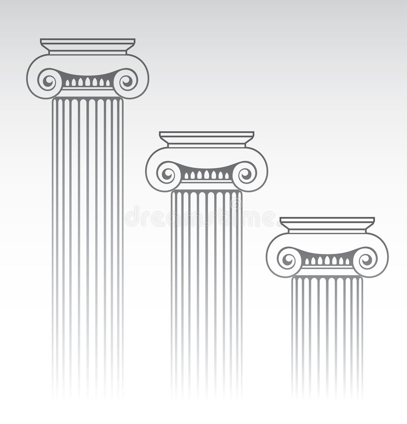 Download Column stock vector. Image of exterior, empire, marble - 9182248