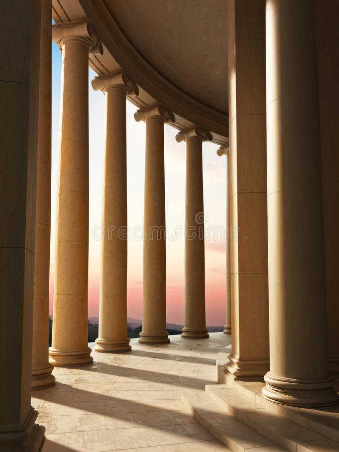 Free Column Architecture Stock Photography - 29993042