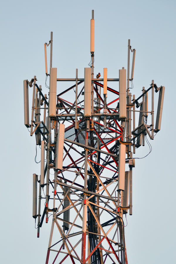 Download Column Broadcast Antenna Close Up Stock Photo - Image: 22178592