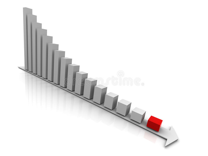 Download Column Graph 3d Stock Photo - Image: 9711880
