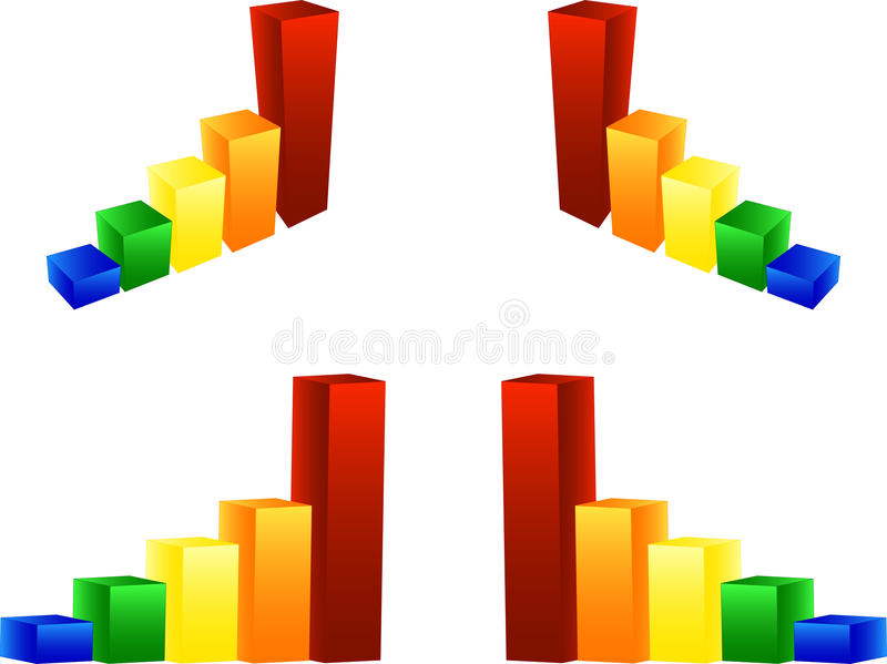 Column Graphic Chart Stock Photography