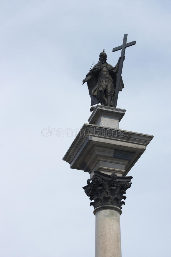 Download Column Of The King Sigismund III Wasa Stock Image - Image: 11483169