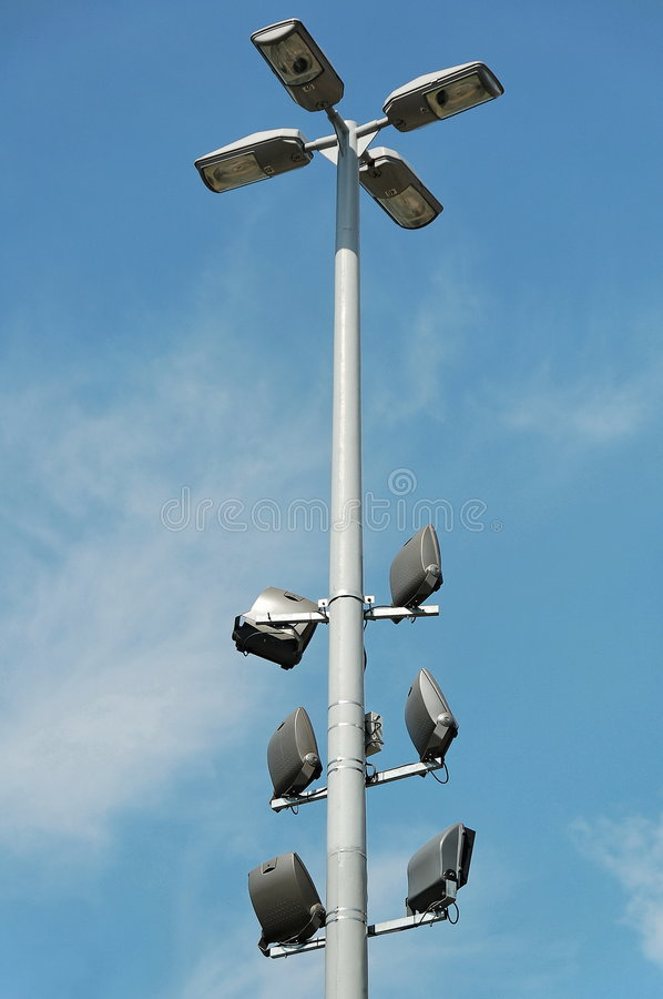 column lighting modern στοκ φωτογραφία με δικαίωμα ελεύθερης χρήσης
