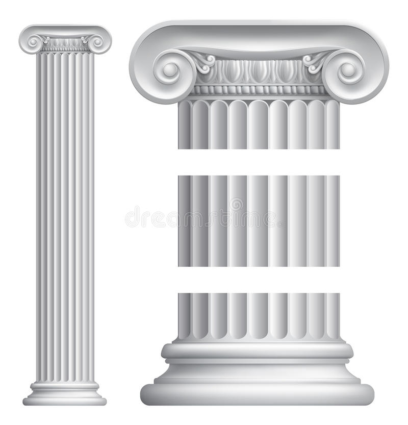 Column Pillar stock illustration