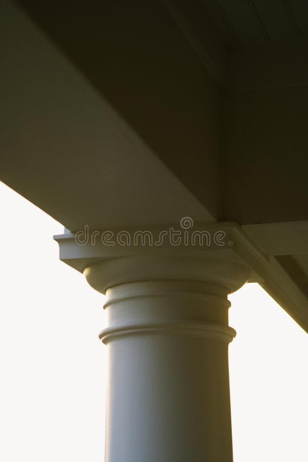Download Column support of porch. stock photo. Image of building - 2046106