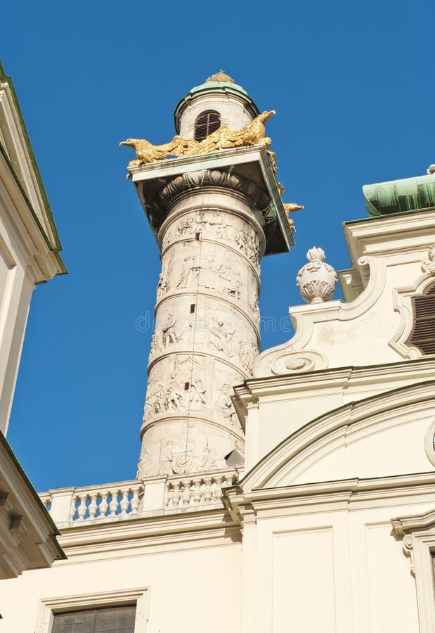 Download Column in Vienna stock photo. Image of church, austria - 28566122