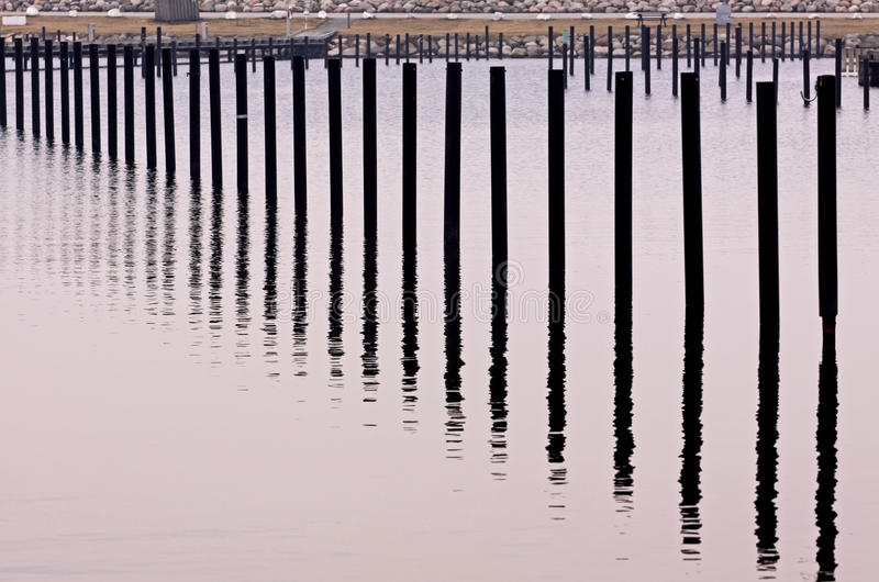 Column in water