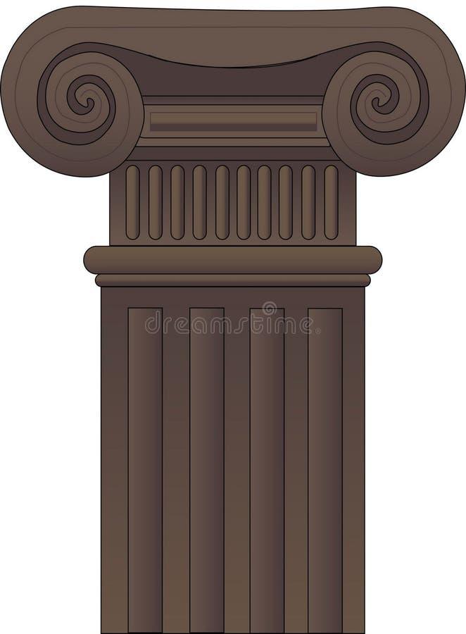 Columna stock de ilustración