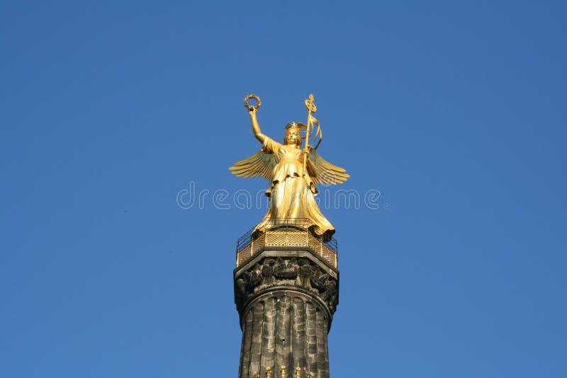 Columna de la victoria de Berlín fotografía de archivo