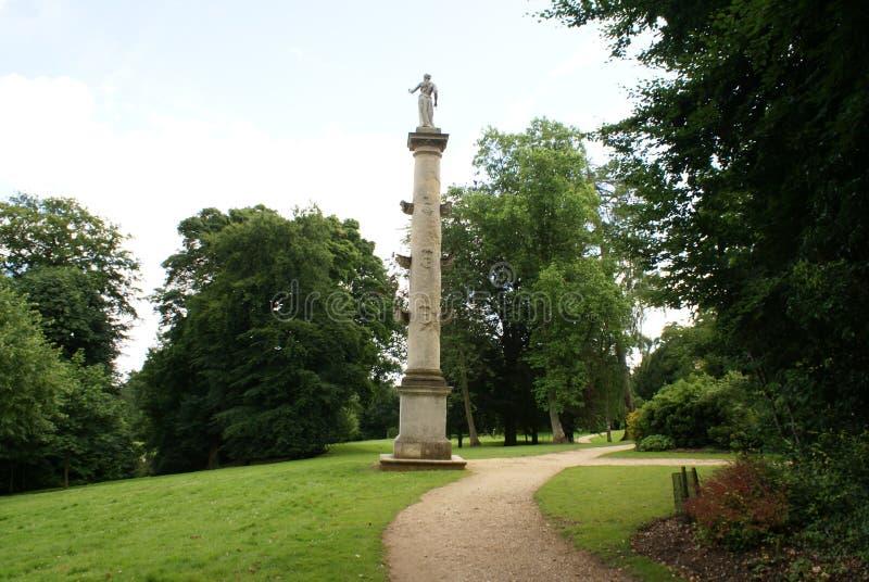 Columna de los €™s de capitán Grenvilleâ en Inglaterra imagenes de archivo