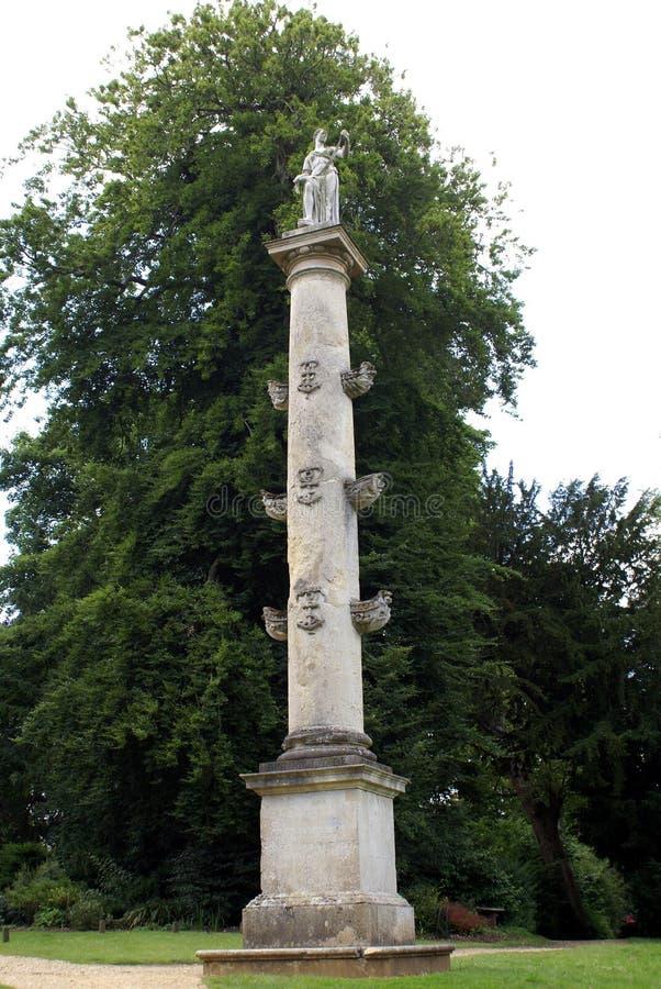 Columna de los €™s de capitán Grenvilleâ en Inglaterra imagen de archivo libre de regalías