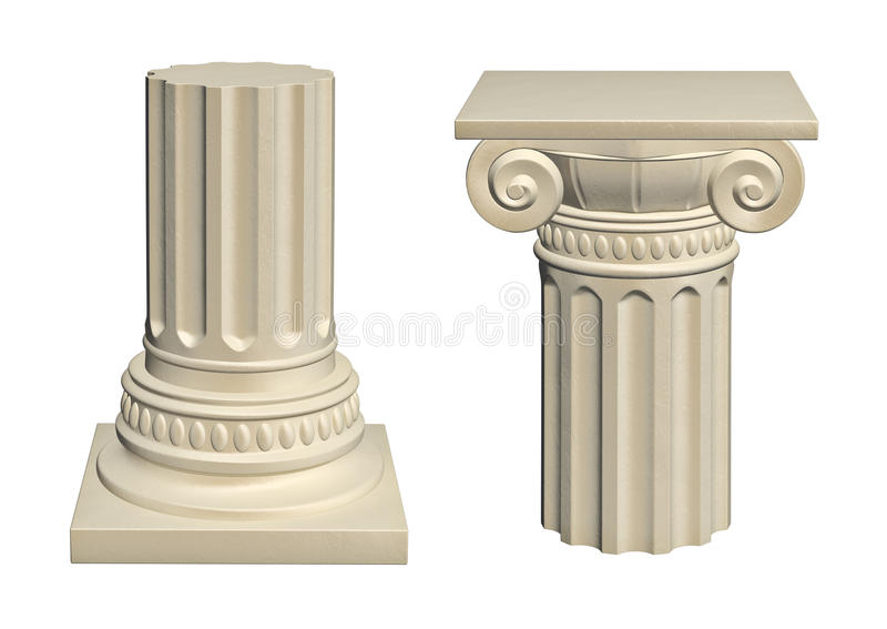 Columna de piedra libre illustration