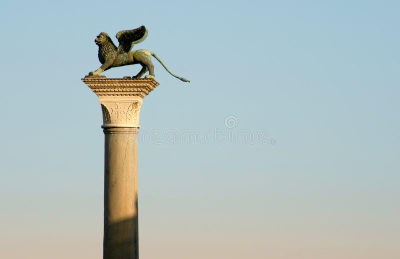 Columna de San Marcos, Venecia imágenes de archivo libres de regalías