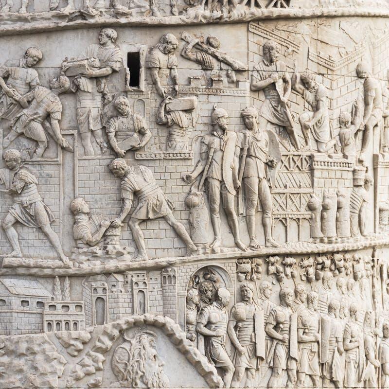 Columna de Trajan fotos de archivo libres de regalías