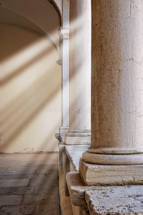 Columna romana fotografía de archivo