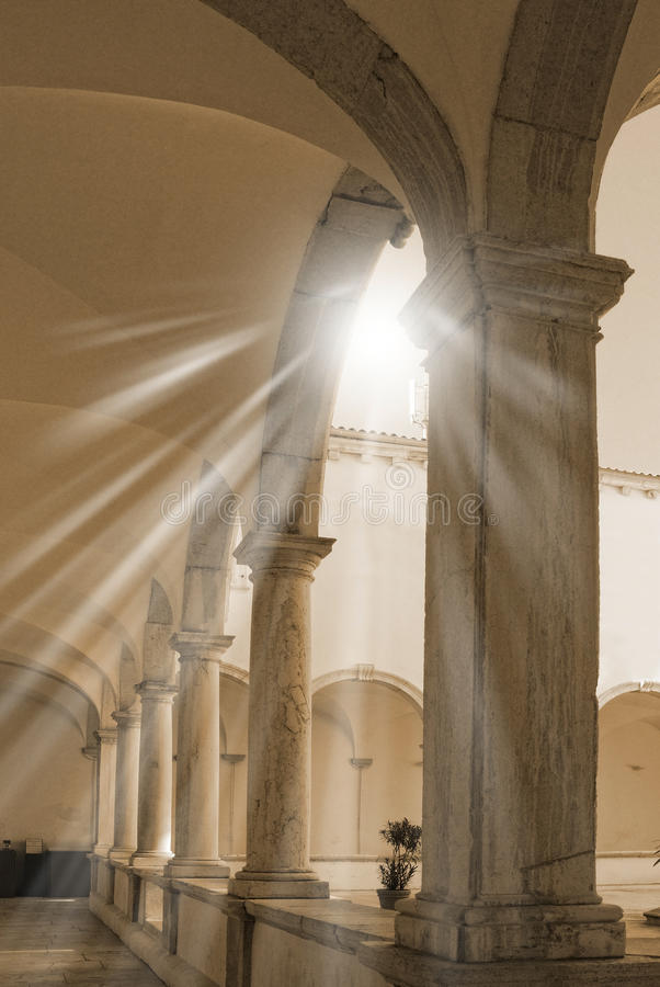 Columna romana foto de archivo