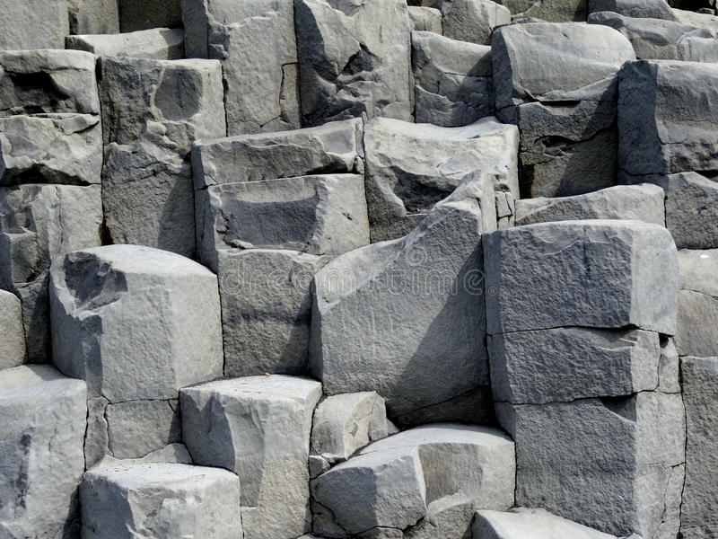 Columnar Basalt royalty free stock images