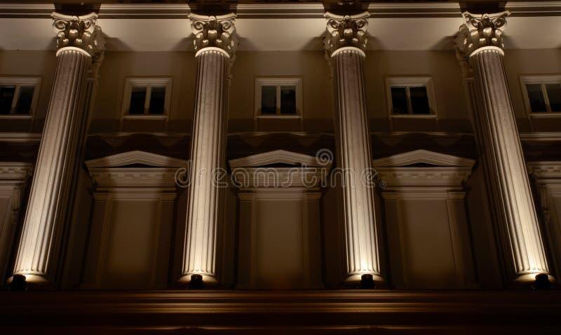 Columnas imagen de archivo libre de regalías