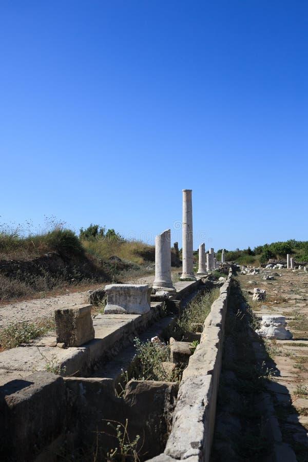 Columnas arruinadas 4 imagenes de archivo