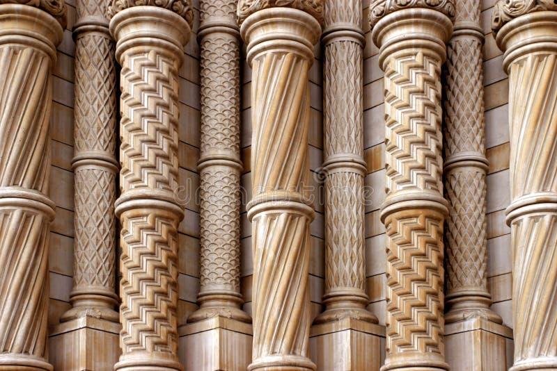 Columnas con estilo fotos de archivo