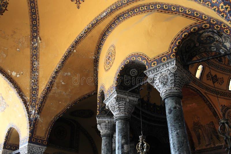 Download Columnas de Hagia Sophia imagen de archivo. Imagen de byzantine - 44852313