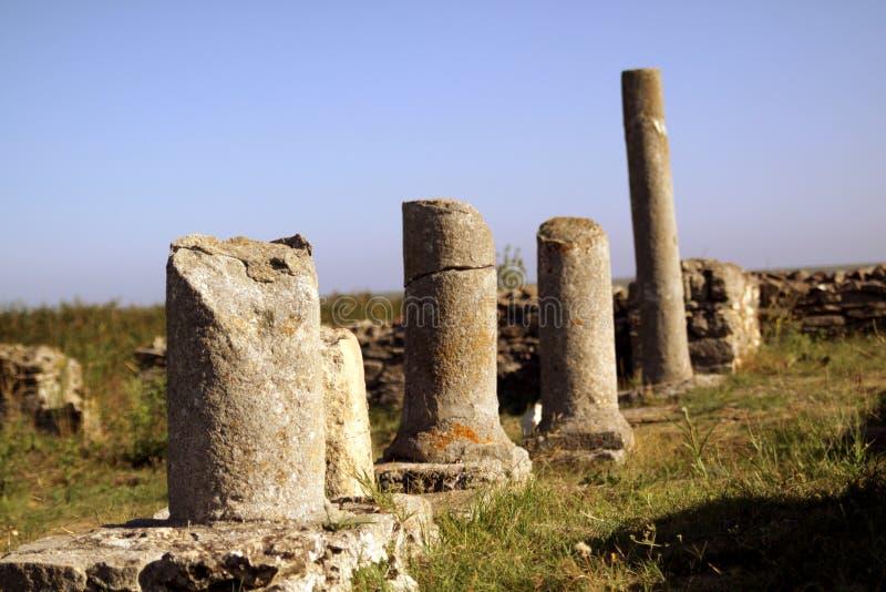 Columnas de Histria imágenes de archivo libres de regalías
