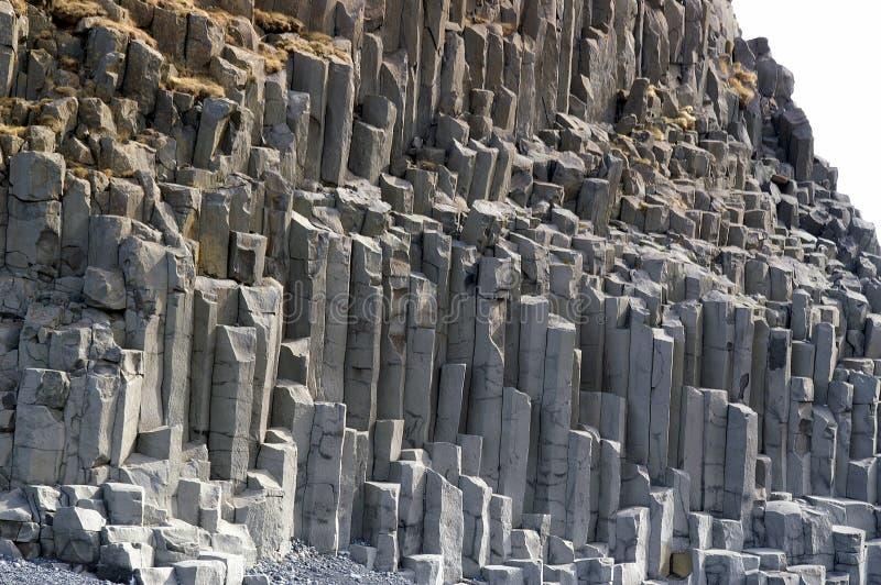 Columnas del basalto foto de archivo