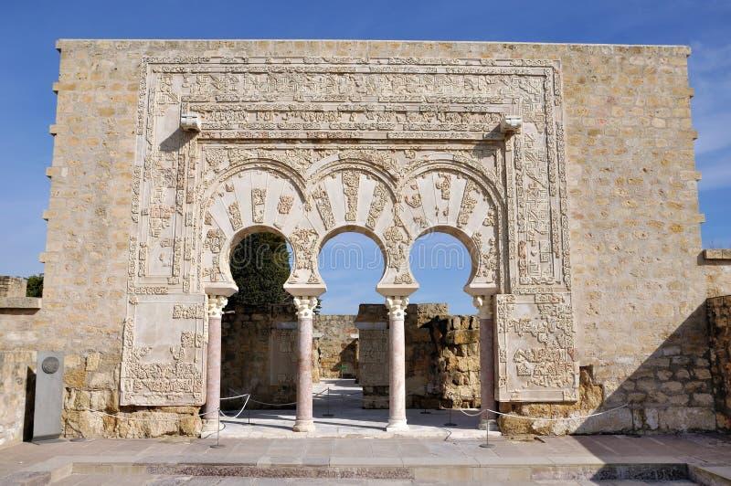 Medina Azahara. Córdoba, España imagen de archivo libre de regalías