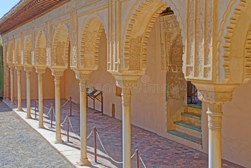 Columnas islámicas imagenes de archivo