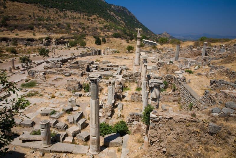 Columnas Romanas Antiguas Imágenes de archivo libres de regalías