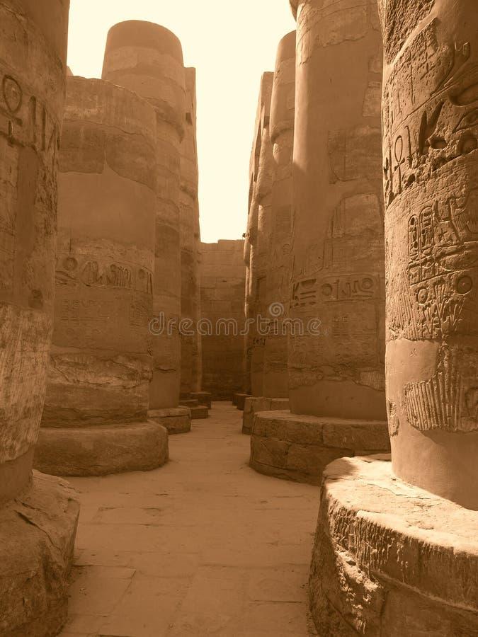 Columnas viejas magníficas imagenes de archivo
