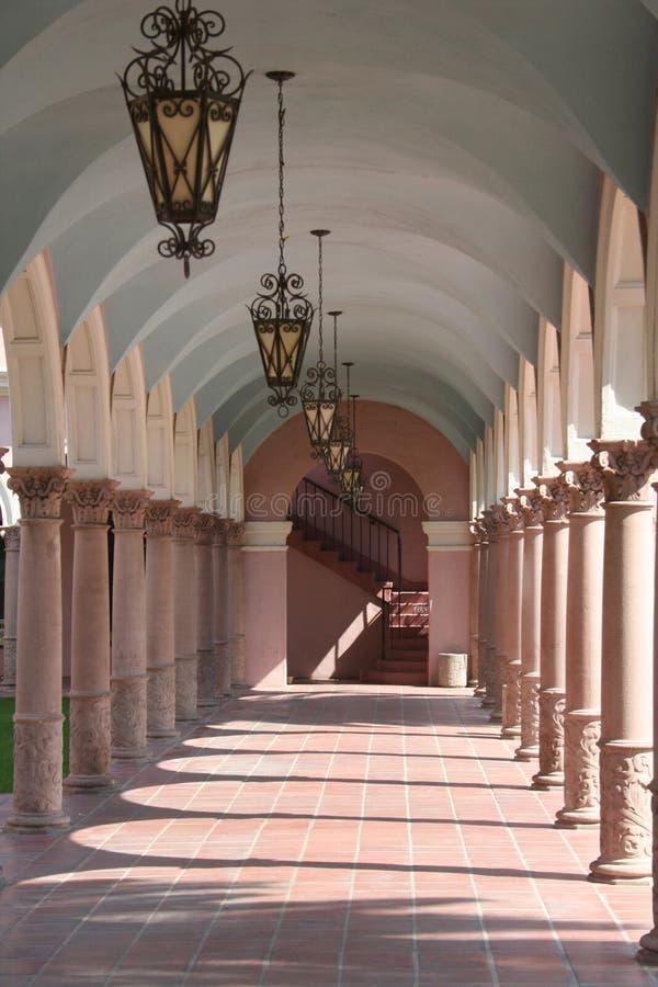 Columnas y arcos foto de archivo libre de regalías