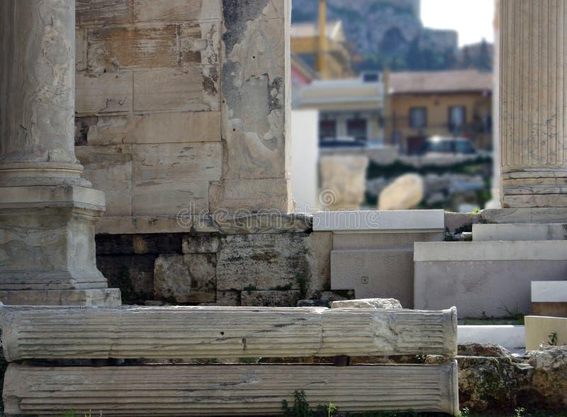 Columnas y pilares fotografía de archivo