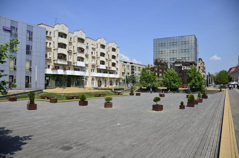 columned budynku sali Hungary miasta zdjęcia stock