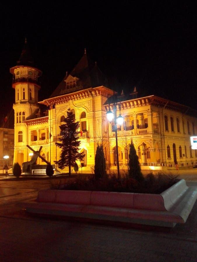 columned budynku sali Hungary miasta fotografia royalty free