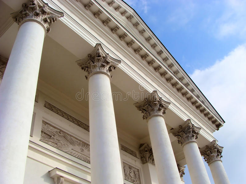 Columns royalty free stock photo