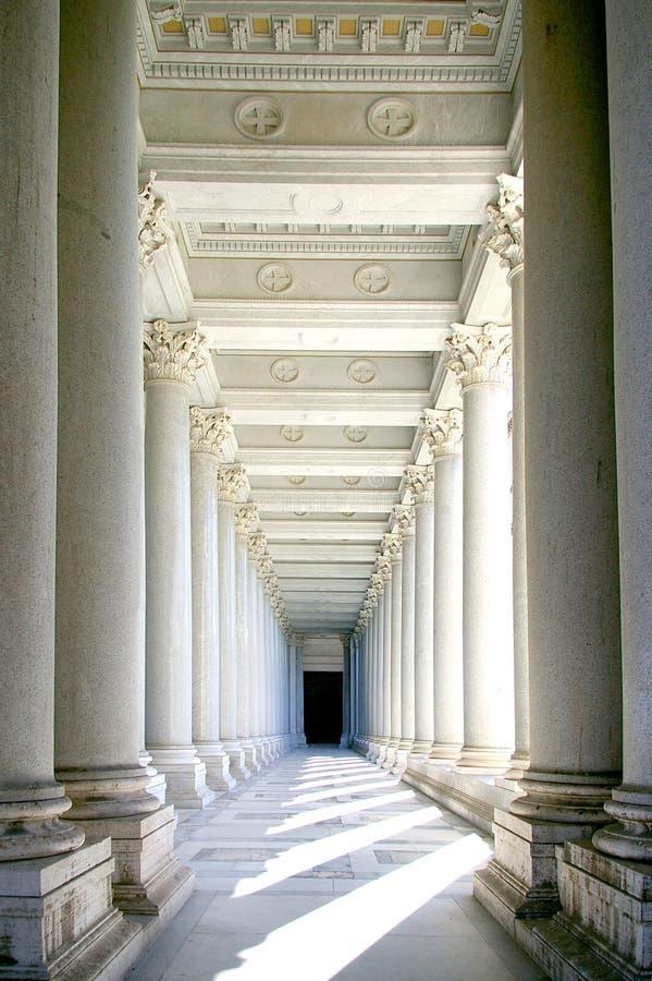 Columns royalty free stock photo