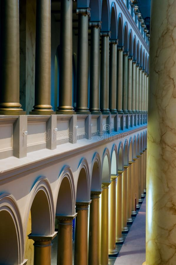 Download Columns and arches stock image. Image of museum, national - 8211457